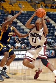 Dustin Scott of The College of Charleston has career high 16 rebounds!